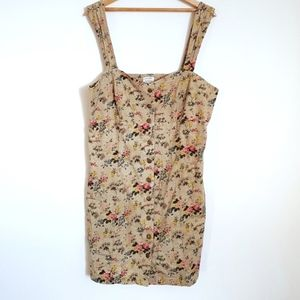 Urban Outfitters x Laura Ashley Floral Mini Dress